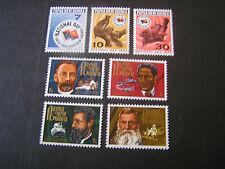 PAPUA NEW GUINEA, SCOTT # 352-354(3)+355-358(4), 2-SETS 1970 VARIOUS ISSUES MNH
