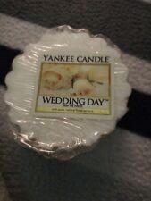 Yankee Candle Wax Tart WEDDING DAY