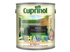 Cuprinol Garden Shades Paint. It is water based and harmless to plants and pets