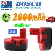 2ps 2000mAh 18v Battery For BOSCH BAT189 735 PSR 18 VE-2 1659RK Drill Cordless