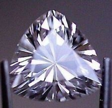 HARD TO FIND NATURAL WHITE CEYLON SAPPHIRE 1.23ct 6mm TRILLION