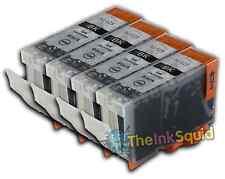 4 Black PGI525 Ink Cartridge For Canon Pixma Printer MG5250 MG5320 MG5350 MG6100
