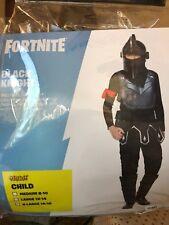 Fortnite Kids X-Large (14-16) Black Knight Costume Spirit Halloween Child New