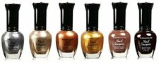 Kleancolor Nail Polish Lacquer -Moonrise Fever Brown Lot 6pc Full Size