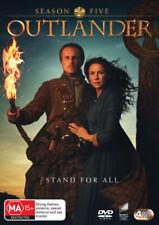 Outlander Season 5 Five DVD 4-discs Set Region 4 Aus Ma15 Series