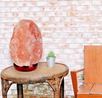 Premium Himalayan Salt Lamp Himalayan Secrets Natural  - UL Listed Dimmer Cord