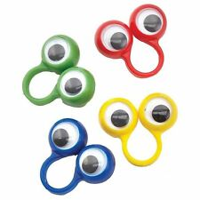 4pk Goggley Eyes Rings Birthday Event Party Loot Bag Favours