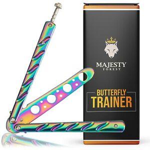 Majesty Forest Butterfly Trainer - Butterfly Messer mit eBook zum Tricks lernen