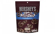 NEW SEALED HERSHEY'S DIPPED PRETZELS IN MILK CHOCOLATE 8.5 OZ