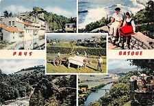 BR52615 Saint jean Pied de port vieilles maison sur la nive     France