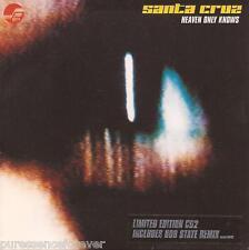 SANTA CRUZ - Heaven Only Knows (UK Ltd Ed 3 Tk CD Single Pt 2) (VG)