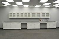 22' BASE 17' WALL - Laboratory Furniture / Cabinets / Case Work /  Tops..