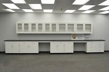 22' BASE 17' WALL - Laboratory Furniture / Cabinets / Case Work /  Tops