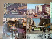 San Francisco Postcards Lot of (12) Photos, Drawings, Vintage Mixed Lot Calif
