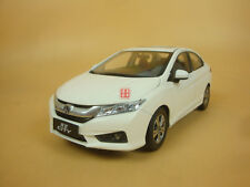 1/18 China Honda new city diecast model white color