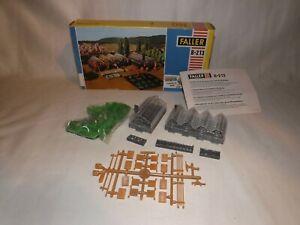 Faller B 213 Greenhouse kit complete