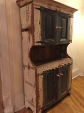 Cabinet made from Restored Barn Wood