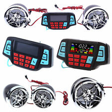 Motorcycle Bluetooth Waterproof Audio System FM Radio Stereo Speaker MP3 Player