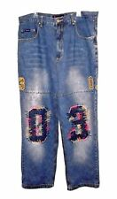 New Jeans, Source Jeans, 03 Embroidered Appliqued Embellished 100%-Cotton  42