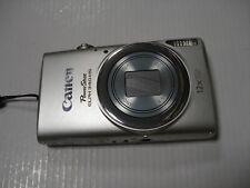LikeNew Canon Powershot ELPH 340 HS IXUS 265 340HS 16MP Digital Camera - Silver