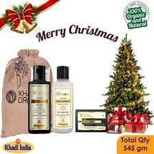 Shikakai Honey Conditioner Shampoo Soap Christmas Gift Khadi 100% Organic Combo