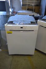 "Bosch SHE3AR72UC 24"" White Full Console Built-In Dishwasher NOB #13737"