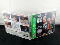 WWF War Zone (Sony PlayStation 1, 1998) PS1 Complete Tested Ships Free