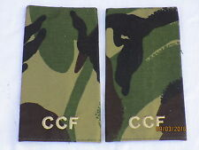 Rango cinghie: private, CCF, DPM, Combined Cadet Force, COPPIA, 60x115mm