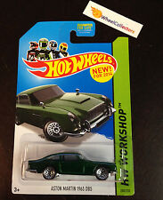 Aston Martin 1963 DB5 #200 * GREEN * 2014 Hot Wheels * D6