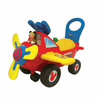 Kids Mickey Mouse Activity Plane Ride On With Flashing Lights & Sounds,BEST GIFT