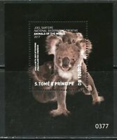 SIERRA LEONE  2018 NATIONAL GEOGRAPHIC KOALA  SOUVENIR SHT MINT  NEVER HINGED