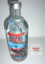 Absolut vodka texas con día 700ml City Limited Edition full and sealed