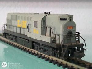 KATO N SCALE #956 L&N DIESEL LOCOMOTIVE WITH DIRECTIONAL LIGHTING TESTED C6