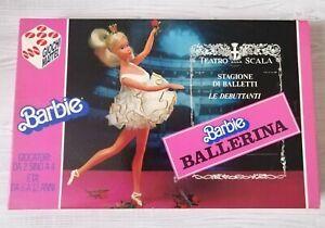 BARBIE BALLERINA GIOCO IN SCATOLA 1983 MATTEL VINTAGE DA COLLEZIONE NON COMPLETO