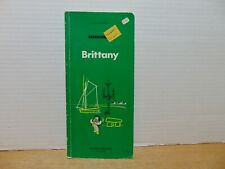 Michelin Tyre Co Brittany Map English Edition (1972, Paperback)
