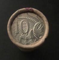 1966 - 2018 AUSTRALIAN 10 CENT COIN - $4 CIRCULATED SECURITY COIN ROLL