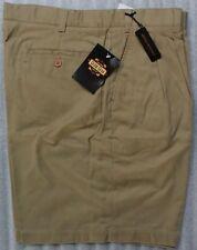NWT Guide Gear Wrinkle Resistant Khaki Shorts 40 Waist Teflon Protector FREE S/H