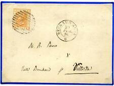 ITALIA - Regno - 1878 - Da Bergamo Alta a Valtorta/Bg - V. Emanuele II - 20 c