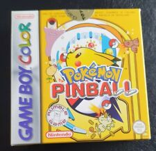 Pokémon Pinball (Nintendo Game Boy Color, 2000) CIB OVP Top Zustand