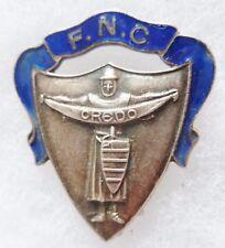 Insigne Politique 1930-1940 FNC FEDERATION NATIONALE CATHOLIQUE CREDO FRANCE