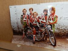 Original Colour photo Of The Collins Brothers  bellevue Aces 1970's  7x5 inch