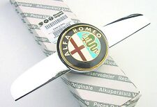 ALFA ROMEO 159  New GENUINE Front Bonnet Grille Badge & Chrome Plinth 60690396