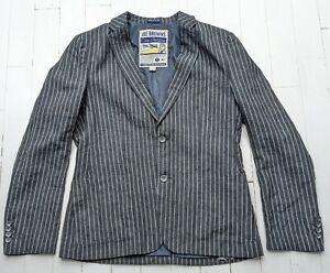 JOE BROWNS PURE LINEN Pinstriped Jacket size L - Fabulous & STYLISH - Cost £200