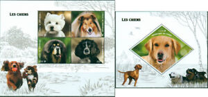 Dogs Domestic Animals Pets Fauna MNH stamps set