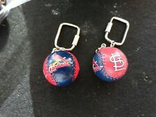Vintage St. Louis Cardinals Lil Brats Baseball Key Chains & 10 Pc.Lot Free Ship.