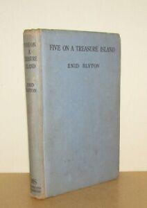 Enid Blyton - Five on a Treasure Island - 1st/1st (1942 Hodder First Edition)