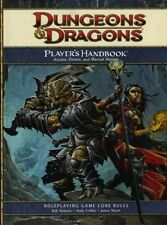 PLAYER'S HANDBOOK NM! 4E Core Rules D&D Dungeons Dragons 4th ED Game RPG