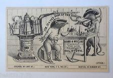 """""""Reklame, Werbung, Öl-Ofen, Ratten"""" 1910 ♥   (33448)"""