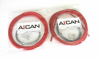 Aican Bike bicycle Shift Derailleur Road cable housing set kit vs Jagwire, Red