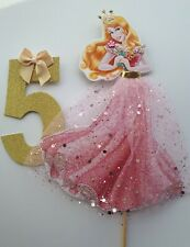 Princess Aurora Cake Topper 6.5 inch Sleeping Beauty. Hand made ANY AGE 💕